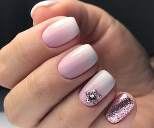 glitter, nail art, and pink image