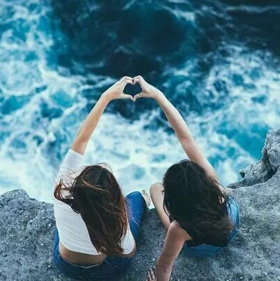 aesthetic, best friends, and girls image