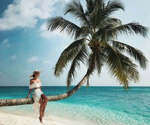 Caribbean, ocean, and beach glam image