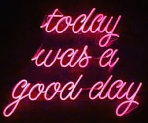 feel good, happy, and neon sign image