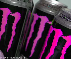 monster and pink image
