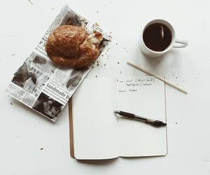 breakfast, delicious, and book image