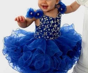baby girl dress and blue girl dress image