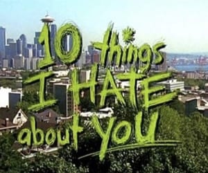 movie, 10 things i hate about you, and 90s image