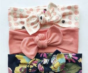 babies, Headbands, and baby style image