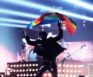 flag, tour, and Harry Styles image