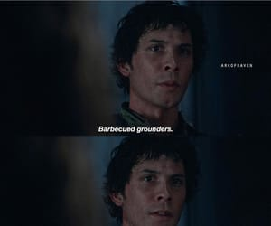 the hundred, bob morley, and bellamy blake image