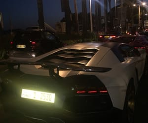 car, luxury, and night image
