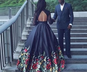 fashion, prom dress, and love image