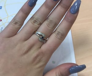 hand, grey nails, and hands image