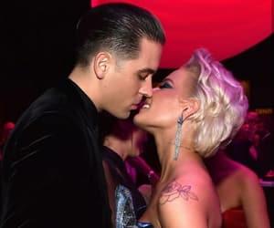 couple, kiss, and halsey image