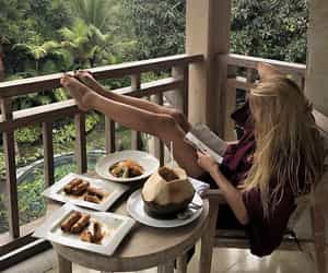 reading and rustic image