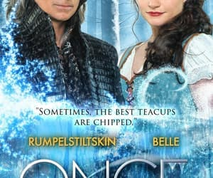 belle, rumbelle, and rumplestiltskin image