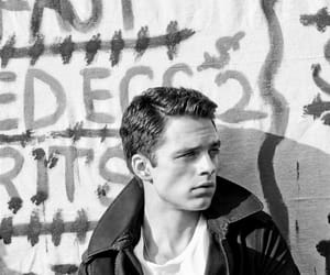 beauty, black and white, and the winter soldier image