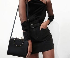 bags, chic, and black image