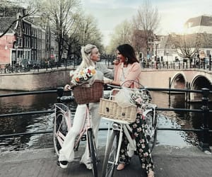 amsterdam, fashion, and friends image