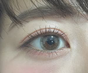 cute, eye, and girl image