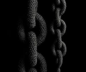 black, links, and rope image