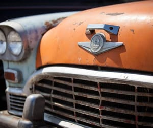 cars, peach, and vintage image