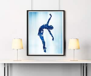 abstract, modern wall art, and ballerina image