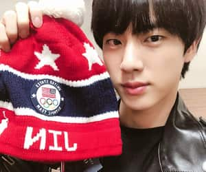 army, jin, and omma image