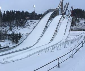 finland, travel, and ski image