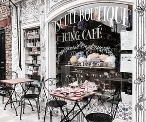 coffee, cafe, and architecture image