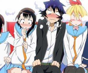 nisekoi, anime, and gif image