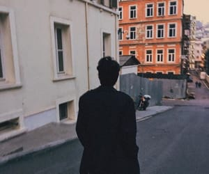 alone, black, and boy image