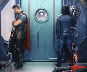 thor, brothers, and Marvel image