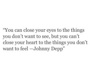 quotes, johnny depp, and love image