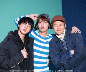 jin, rm, and jhope image