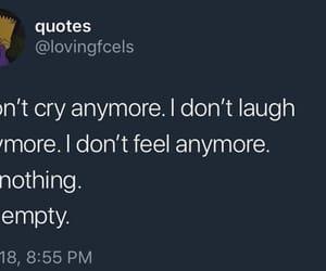 anxiety, qoutes, and sad qoutes image