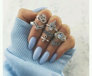 aesthetic, nails, and sweater image