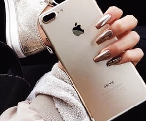 accessories, nails, and iphone image