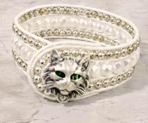 etsy, white, and cat lover image