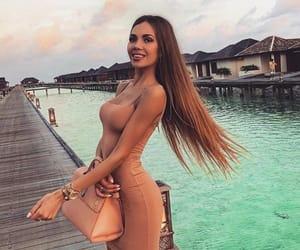 beauty, fashion, and maledives image