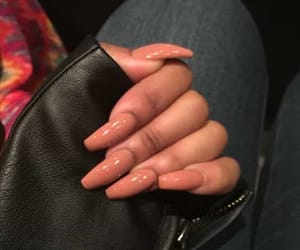 nails, Nude, and fashion style image