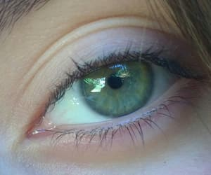eyes, green, and sweet image
