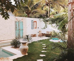 exterior, jardin, and terrasse image