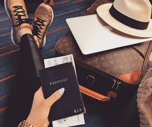 fashion, passport, and travel image