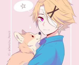 anime, anime boy, and yoosung image