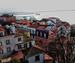 city, trip, and tejo image