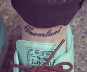 neverland, tattoo, and peter pan image