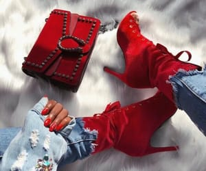 beauty, nails, and shoes image