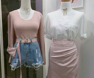 casual, fashion, and pastel image