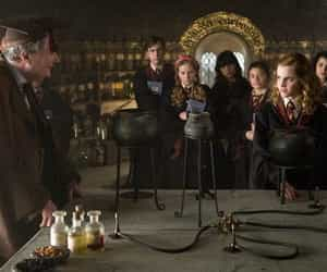 harry potter, hermione granger, and potion image
