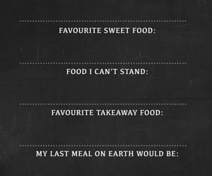 and, answer, and food image