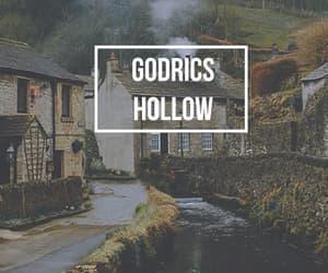 harry potter, hogwarts, and godrics hollow image