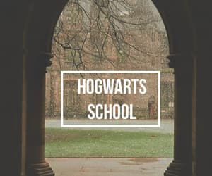 harry potter, wizardry, and hogwarts image